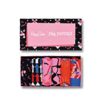 S-Rush(エスラッシュ)[Happy Socks(ハッピーソックス)]6-PACK PINK PANTHER COLLECTION マルチ