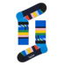 S-Rush(エスラッシュ)[Happy Socks(ハッピーソックス)]BEATLES HELPING HANDS SOCKS 青