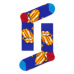 S-Rush(エスラッシュ)[Happy Socks(ハッピーソックス)]ROLLING STONES TUMBLING STRIPES SOCK 青