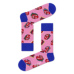 S-Rush(エスラッシュ)[Happy Socks(ハッピーソックス)]ROLLING STONES TUMBLING STRIPES SOCK 桃色