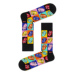 S-Rush(エスラッシュ)[Happy Socks(ハッピーソックス)]ROLLING STONES TUMBLING STRIPES SOCK 黒