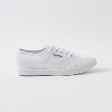 S-Rush(エスラッシュ)[SUPERGA(スペルガ)]2750-COTU SLIPON SUPERLIGHT 白