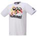 hummel-LIFESTYLE21SShummel PLAY ドライミックス Tシャツ ホワイト