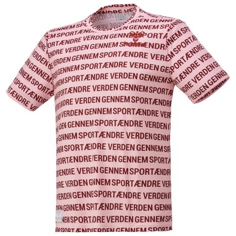 hummel-LIFESTYLE21SShummel PLAY グラフィック Tシャツ ピュアピンク