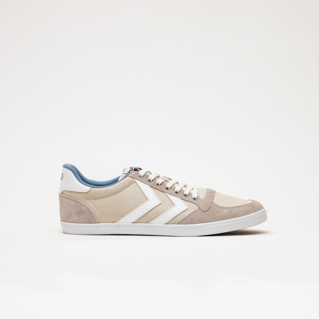hummel-LIFESTYLESLIMMER STADIL LOW BONE WHITE