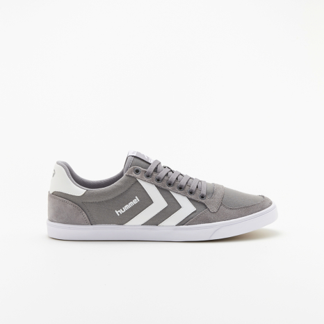 hummel-LIFESTYLESLIMMER STADIL LOW CANVASグレー
