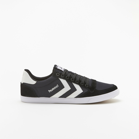 hummel-LIFESTYLESLIMMER STADIL LOW CANVAS黒
