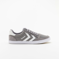 hummel-LIFESTYLE<br>SLIMMER STADIL LOW CANVAS グレー