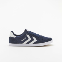 hummel-LIFESTYLE<br>SLIMMER STADIL LOW CANVAS 紺