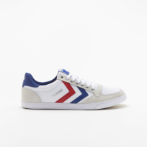hummel-LIFESTYLE<br>SLIMMER STADIL LOW CANVAS 白
