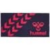 hummel-SPORTSバスタオル 紺色×桃色