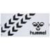 hummel-SPORTSバスタオル 白×黒