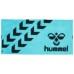hummel-SPORTSバスタオル 青×黒