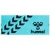 hummel-SPORTSスポーツタオル 青×黒