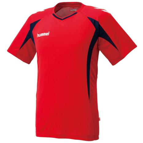 hummel-SPORTSプラクティスシャツ 赤
