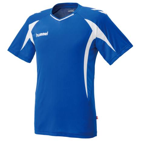 hummel-SPORTSプラクティスシャツ 青