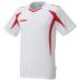 hummel-SPORTSプラクティスシャツ 白×赤