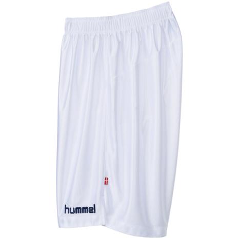 hummel-SPORTSプラクティスパンツ 白×紺色
