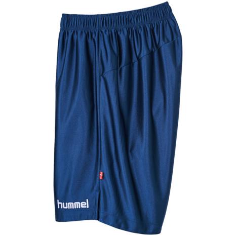 hummel-SPORTSプラクティスパンツ 紺色×白
