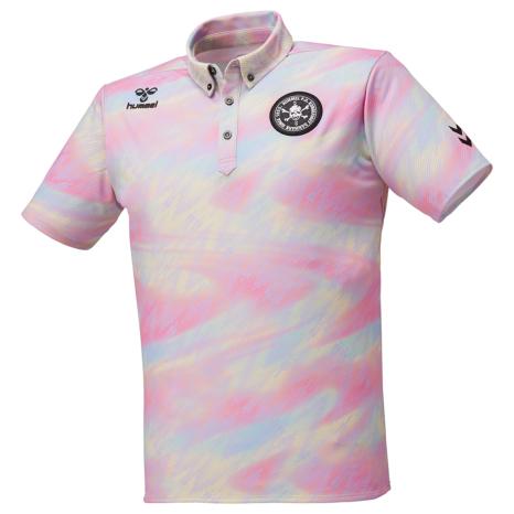 hummel-SPORTS21SSFC SKULLボタンダウンポロシャツ