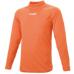 hummel-SPORTSハイネックインナーシャツ 橙色