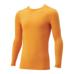 hummel SPORTShummel SPORTSあったか丸首インナーシャツ 黄色