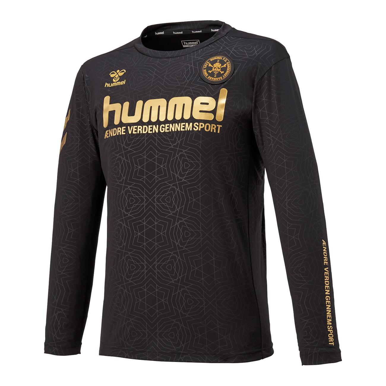 hummel-SPORTSFC.SKULLロングプラクティストップ 黒