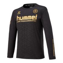 hummel-SPORTSFC.SKULLロングプラクティストップ ブラック
