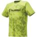 hummel-SPORTS21SSバスケットTシャツ 黄色