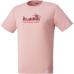 hummel-SPORTS21SSピポットスリーブバスケットTシャツ 桃色