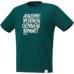 hummel-SPORTS21SSピポットスリーブバスケットTシャツ 緑