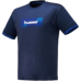 hummel-SPORTS21SSバスケットTシャツ 紺色