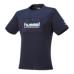 hummel-SPORTSピボットスリーブTシャツ 紺