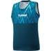 hummel-SPORTS21SSバスケットタンクトップ 青