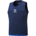 hummel-SPORTS21SSバスケットタンクトップ 紺色