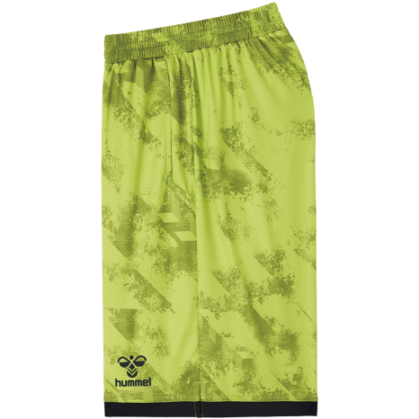 hummel-SPORTS21SSバスケットパンツ 黄色