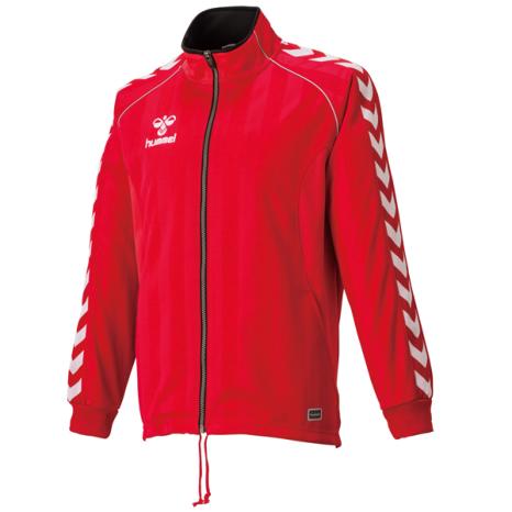 hummel-SPORTSウォームアップジャケット 赤