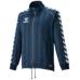 hummel-SPORTSウォームアップジャケット 紺色