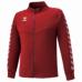 hummel-SPORTS21SSチームウォームアップジャケット 赤