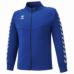 hummel-SPORTS21SSチームウォームアップジャケット 青