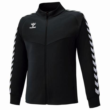hummel-SPORTS21SSチームウォームアップジャケット 黒