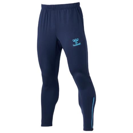 hummel21SSテックパンツ 紺色