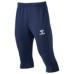 hummel21SSトレーニング3/4パンツ 紺色