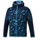 hummel21SSIウーヴンフーデッドジャケット 紺色