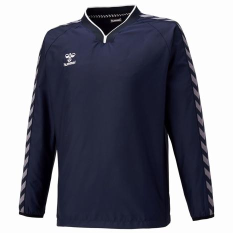hummel-SPORTS21SSチームトライアルコート 紺色