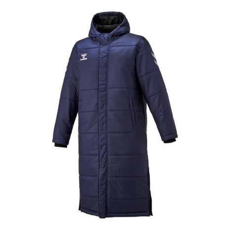hummel SPORTShummel-SPORTSパデッドロングコート 藍色