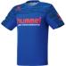 hummel-SPORTS21SSドライTシャツ 青