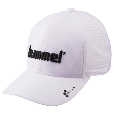 hummel-SPORTS20SSベーシックキャップ 白