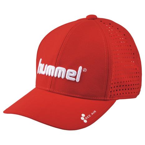 hummel-SPORTS20SSベーシックキャップ 赤