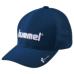 hummel-SPORTS20SSベーシックキャップ 紺色